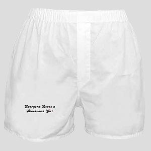 Blackhawk girl Boxer Shorts