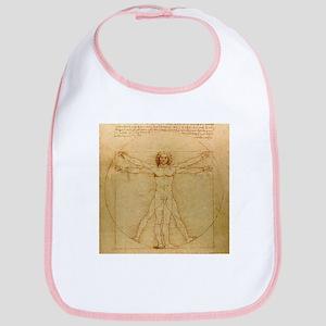 Leonardo Da Vinci Vitruvian Man Bib