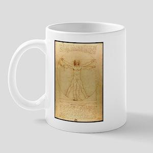 Leonardo Da Vinci Vitruvian Man Mug
