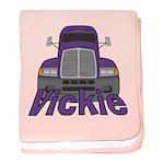 Trucker Vickie baby blanket