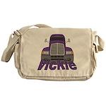 Trucker Vickie Messenger Bag