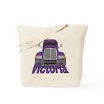 Trucker Victoria Tote Bag