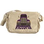 Trucker Victoria Messenger Bag