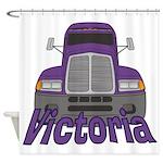 Trucker Victoria Shower Curtain