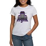 Trucker Virginia Women's T-Shirt