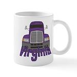 Trucker Virginia Mug
