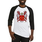 Druck Coat of Arms Baseball Jersey