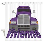 Trucker Vivienne Shower Curtain