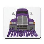 Trucker Vivienne Mousepad