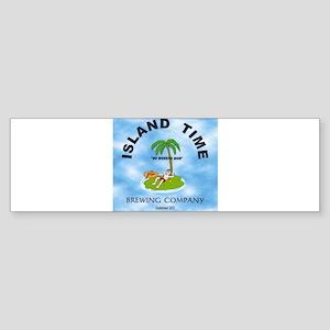 Island Time Brewing Company Sticker (Bumper)