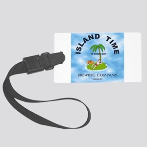 Island Time Brewing Company Large Luggage Tag