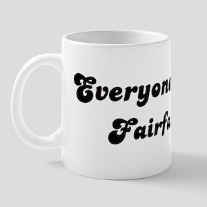 Fairfax girl Mug