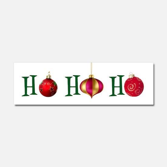 Ho Ho Ho Car Magnet 10 x 3