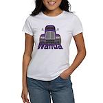 Trucker Wanda Women's T-Shirt
