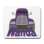 Trucker Wanda Mousepad
