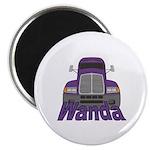 Trucker Wanda Magnet