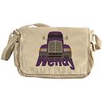 Trucker Wendy Messenger Bag