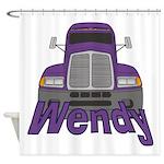 Trucker Wendy Shower Curtain