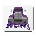 Trucker Wendy Mousepad
