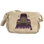Trucker Whitney Messenger Bag