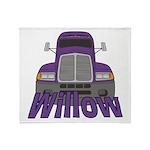 Trucker Willow Throw Blanket