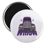 Trucker Willow Magnet