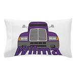 Trucker Wilma Pillow Case