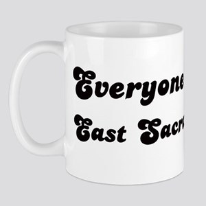 East Sacramento girl Mug