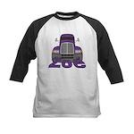 Trucker Zoe Kids Baseball Jersey