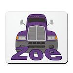 Trucker Zoe Mousepad