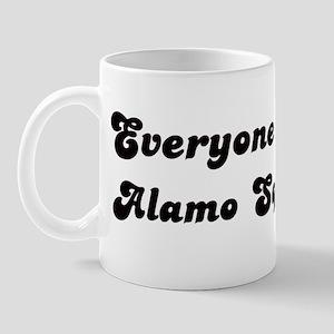 Alamo Square girl Mug