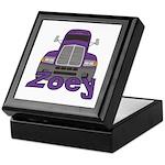 Trucker Zoey Keepsake Box