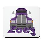 Trucker Zoey Mousepad