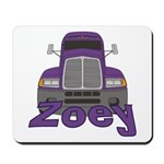Trucker Zoey Mousepad