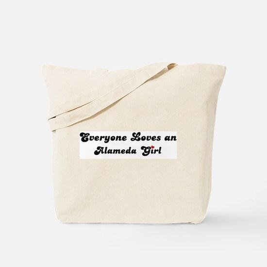 Alameda girl Tote Bag