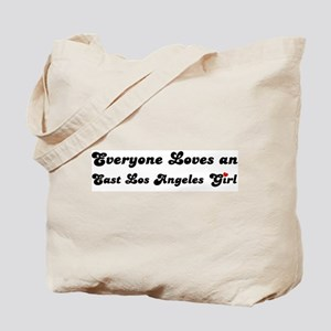 East Los Angeles girl Tote Bag