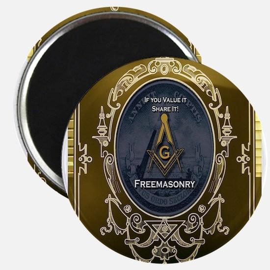 "Fremasonry Share It 2.25"" Magnet (10 pack)"