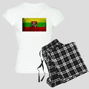 Lithuania Flag Women's Light Pajamas