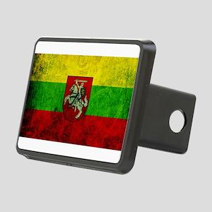 Lithuania Flag Rectangular Hitch Cover