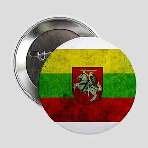 "Lithuania Flag 2.25"" Button"