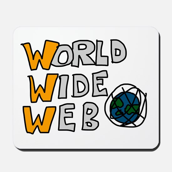 World Wide Web Mousepad