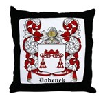 Dobenek Coat of Arms Throw Pillow