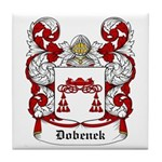Dobenek Coat of Arms Tile Coaster