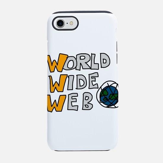 World Wide Web iPhone 7 Tough Case