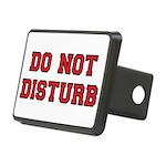 Do Not Disturb Rectangular Hitch Cover