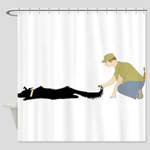 startdogwhandler Shower Curtain