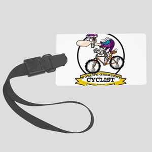 WORLDS GREATEST CYCLIST MEN CARTOON Large Lugg