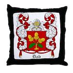 Dab Coat of Arms Throw Pillow