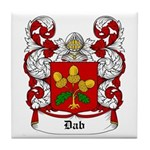 Dab Coat of Arms Tile Coaster