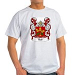 Dab Coat of Arms Ash Grey T-Shirt